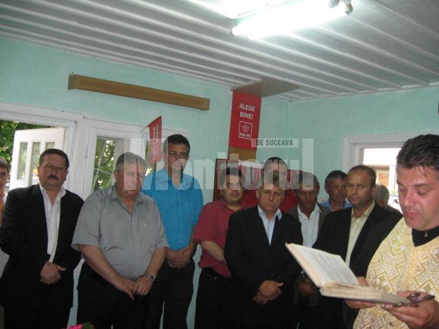 Activitate politică: PSD şi-a inaugurat noul sediu de la Salcea