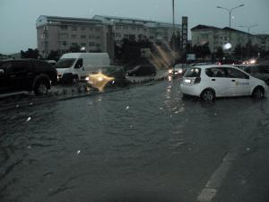 Potop la Fălticeni