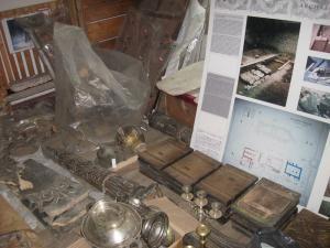 O importantă colecţie de istorie şi artă veche, cu piese obţinute în urma săpăturilor arheologice