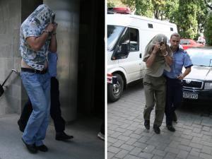Agenţii Daniel Cristian Jitari (34 de ani) şi Toader Olari (53 de ani) au fost arestaţi preventiv