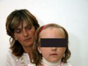 Ioana Tăbăcaru şi fiica sa