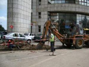 Strada Republicii, care trece prin faţa clădirii Finanţelor, va fi blocată circulaţiei rutiere pentru cel puţin două săptămâni