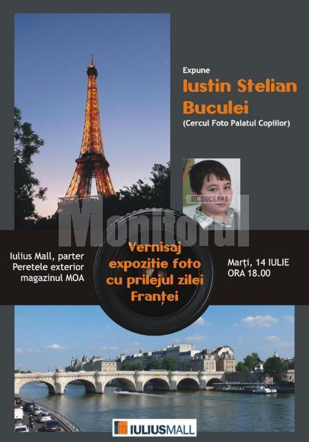 Vernisaj, la IuliusMall: Expoziţie foto de Ziua Franţei