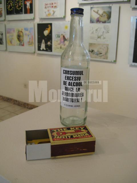 Avertizare: Consumul excesiv de alcool duce la terminarea băuturii