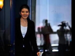 Monica Iacob Ridzi a anunţat, ieri, că îşi dă demisia din fruntea MTS. Foto: MEDIAFAX