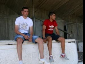 Duman şi Luca au privit meciul cu Băcaul din tribune