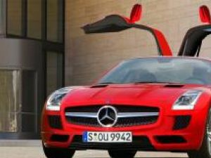 Mercedes SLS AMG Rendering