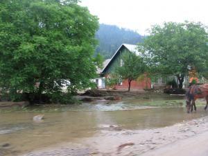 Cod galben de inundaţii în judeţul Suceava, din această după-amiază şi până vineri, 7 iulie