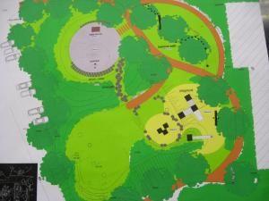 Dezvoltare: Parc nou lângă primăria din Burdujeni