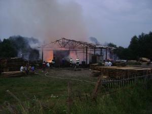 Incendiul de la SC Charm Wood SRL Râşca, administrată de cetăţeanul coreean Yoon Chun-Sik