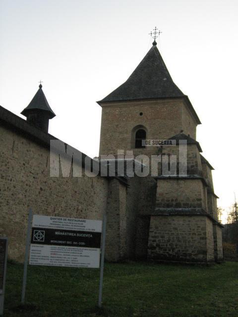 La finalul Sfintei Liturghii, la Mănăstirea Suceviţa, pelerinii vor fi invitaţi la o agapă creştină