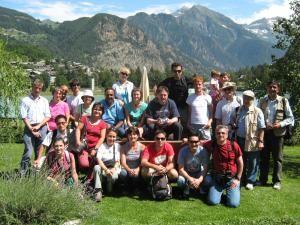 Participanţi la Şcoala Internaţională a Muntelui