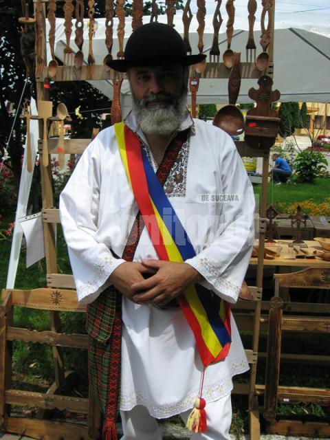 Florin Cramariuc, Preşedintele Asociaţiei Meşterilor Populari din Bucovina