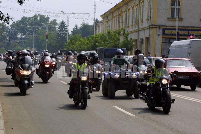 Rădăuţi: Weekend cu două sute de bikeri
