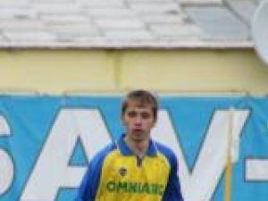 Azaharioaei a fost cooptat în lotul pentru meciul cu Steaua II