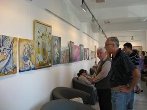 Vizionarea expoziţiei Aeris