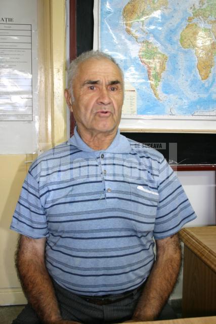 """Vasile Chira: """"Am fost primul gospodar din Ţibeni, iar oamenii pot să confirme lucrul ăsta"""""""