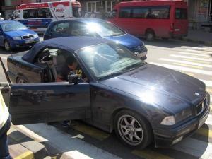 Tânărul implicat în accident nu a acordat prioritate de trecere, a stabilit poliţia