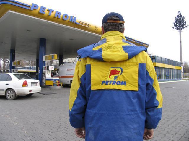 Scandal la o staţie Petrom Foto: MEDIAFAX