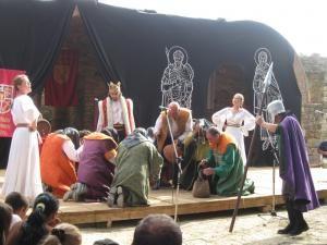 Scenetă despre ospăţul lui Alexandru Lăpuşneanu