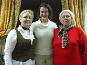 Ionela Roşu, Corina Derla şi Antonia Gheorghiu
