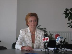 Mirela Adomnicăi, directorul Casei Judeţene de Pensii