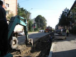 Strada Mihai Viteazul, închisă pentru lucrări de termoficare