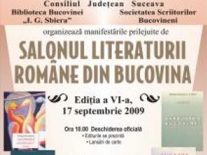 Ediţia a VI-a: Salonul Literaturii Române din Bucovina