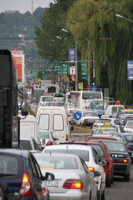 Circulaţia rutieră va fi sugrumată pe o porţiune mai mare