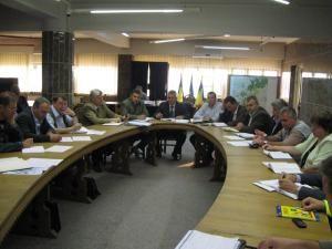 Comandamentul de gestionare a lucrărilor care se execută în municipiul Suceava, prezidat de primarul Ion Lungu