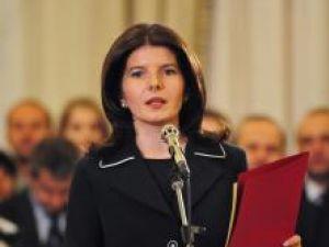 Fostul ministru Monica Iacob Ridzi. Foto: MEDIAFAX
