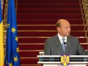 Traian Băsescu: Decizia în Parlament s-ar lua mult mai uşor. Foto: Sorin LUPŞA