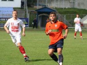 Vasile Dicher nu a reuşit prea mult pe faza ofensivă