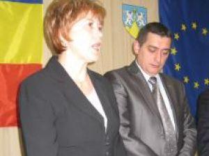 Noii subprefecţi ai judeţului Suceava, Angela Zarojanu şi Ionuţ Creţuleac