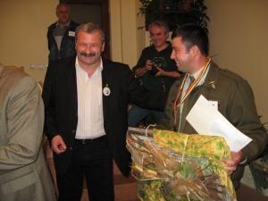 Valerian Solovăstru şi Vasile Cârdei, cel mai bun pădurar al României
