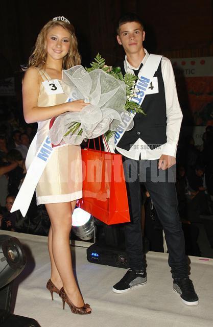 Miss Andrada Perhinschi şi Mister Ovidiu Prudeanu