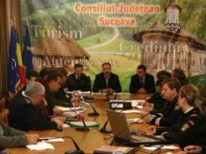 Şedinţa extraordinară a Comitetului Judeţean pentru Situaţii de Urgenţă