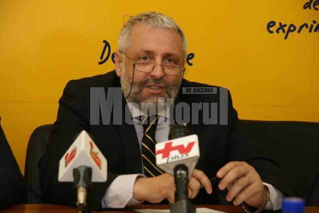 Mihai Steiciuc, fostul preşedinte al Organizaţiei Municipale Suceava a PNL