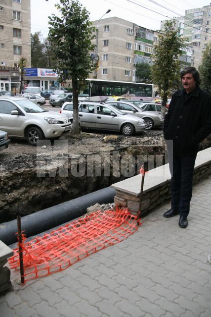 """Nicu Brădăţan: """"L-am văzut că se clătina şi apoi cum se îndreaptă direct spre şanţurile săpate aici"""""""