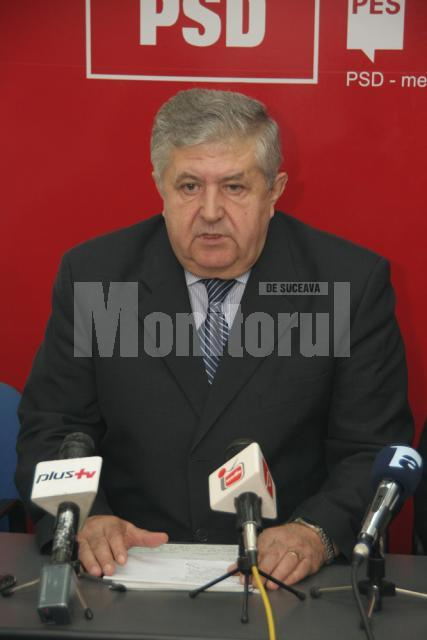 """Gavril Mîrza: """"Eu am  crezut că sucevenii şi-au ales un preşedinte care să-i slujească, nu să stea pe banii publici ai judeţului în Bucureşti"""""""