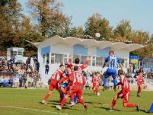 Confruntarea dintre Cetatea şi FC Botoşani, unul din cele mai slabe meciuri care s-au jucat în ultima vreme pe arena suceveană