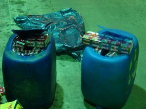Siret: Peste zece mii de pachete de ţigări, confiscate în weekend