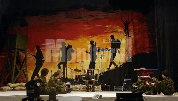 Realitatea Armatei, emisiune TV in direct din Unitatea CNCSM