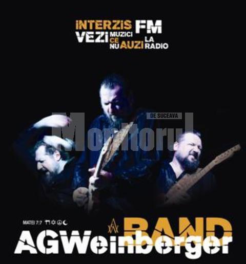 Turneu naţional: Cunoscutul chitarist AG Weinberger, în concert la Suceava