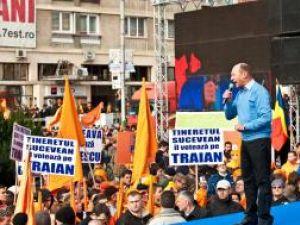 Traian Băsescu: Moldova este a voastră, Moldova este a urmaşilor voştri