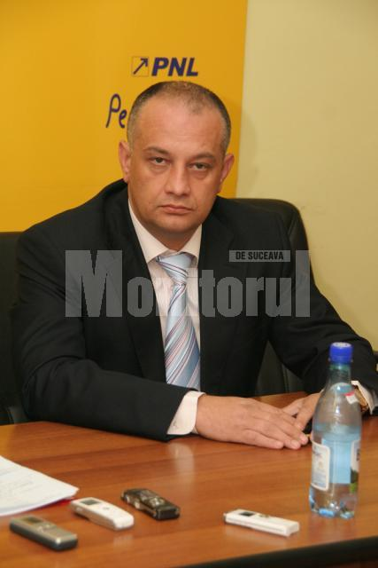Alexandru Băişanu, preşedintele Organizaţiei Judeţene Suceava a PNL