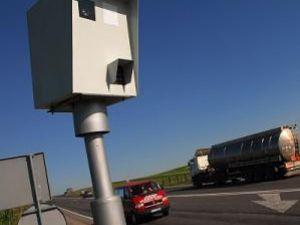 Scandalul legat de cele opt radare fixe care au funcţionat timp de câteva luni de zile în judeţul Suceava continuă. Foto: Gatso
