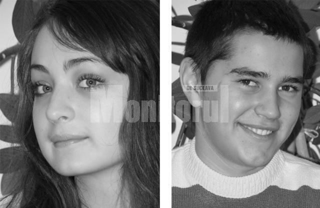 """Ştefana Loghin şi Petrică Lehaci, cei mai frumoşi boboci de la la Colegiul """"Alexandru cel Bun"""" din Gura Humorului"""