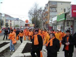 Din campanie: Sucevenii susţin referendumul propus de Băsescu