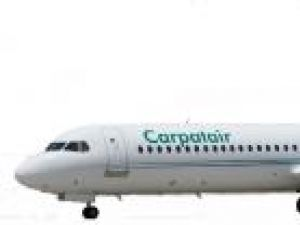 """Transport aerian: Carpatair a reluat cursele de pe Aeroportul """"Ştefan cel Mare"""""""